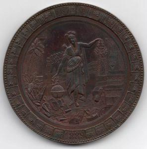 Avers Medalla de honor a los expositores mexicanos