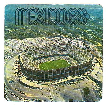 Carte postale du Stadio Azteca