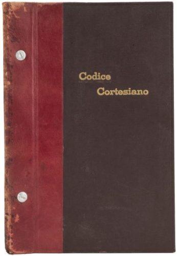 Codice Cortesiano : couv.