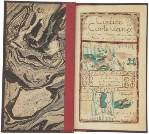 Codice Cortesiano : page de titre