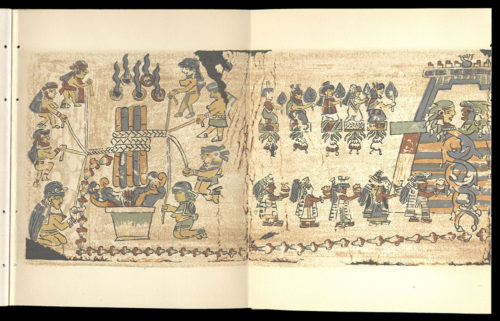 Codex Hall : an ancient Mexican hieroglyphic picture manuscript