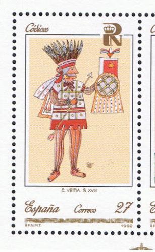 Codice Veitia : Huitzilopochtli
