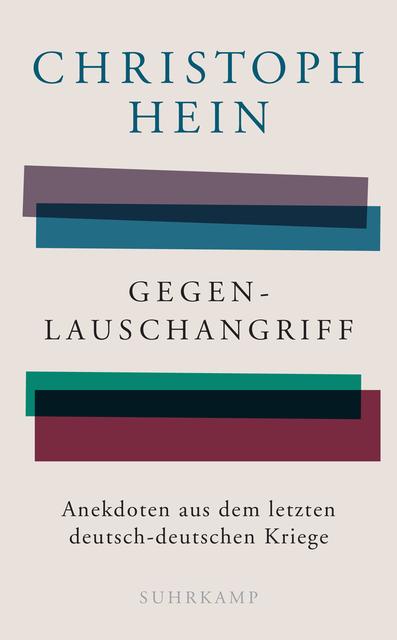 Compte rendu : Christoph Hein, Gegenlauschangriff, 2019