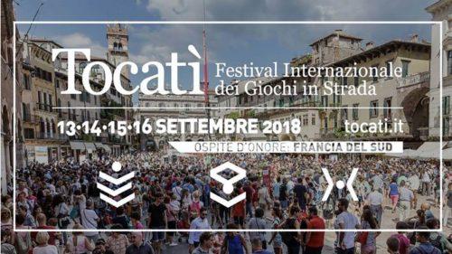 Affiche du festival Tocati 2018