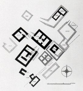 Figure 1 : Les tombes royales d'Ur