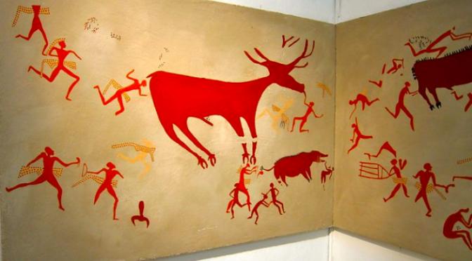 La peinture au Proche-Orient ancien: première partie, les débuts