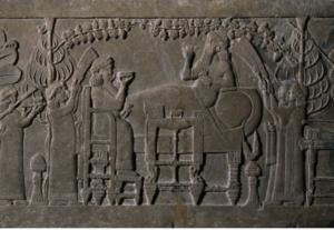 Le Banquet sous la treille, British Museum