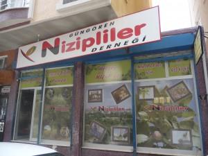 Local de l'association des Nizipli de Güngören Cliché : P. Raffard, mai 2013