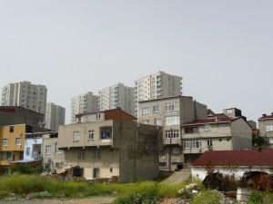 Contrastes des formes urbaines (P.R)