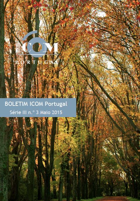 Capa boletim ICOM Portugal 03