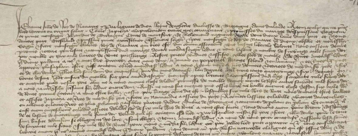 Femmes, pouvoirs et parenté dans la Bretagne ducale (XIVe-XVe siècle) – Élodie Chaudet