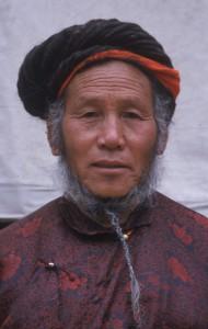 Tantriste du nord-est tibétain (cliché N. Sihlé)