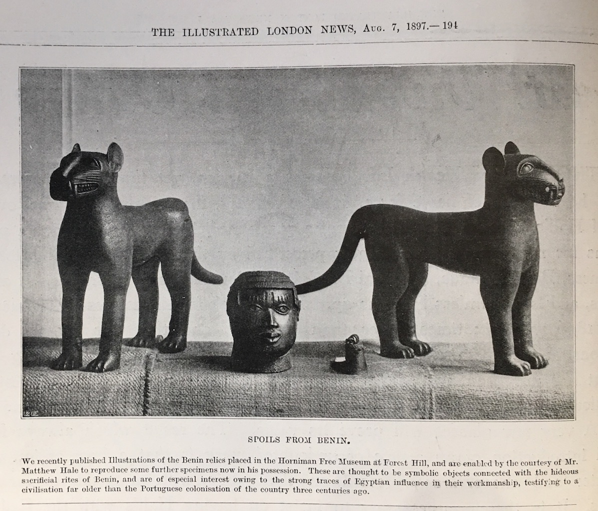 The Illustrated London News, August 7th, p. 191