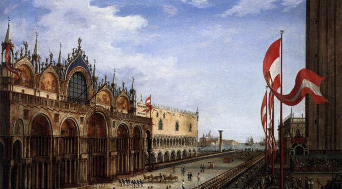 1815: The Return of the horses of St. Mark in Venice