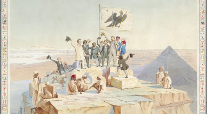15. Oktober 1842: Die Preußische Expedition auf der Spitze der Cheopspyramide