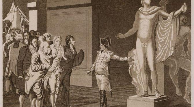 1797: Napoleon als Befreier des griechischen Kulturerbes