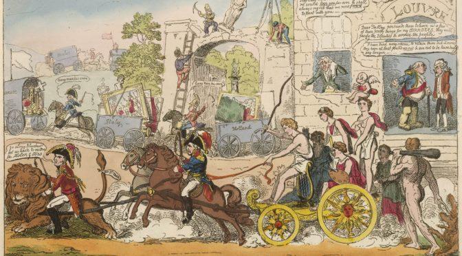 1815: Apollos Abreise oder: Leb wohl, Paris!
