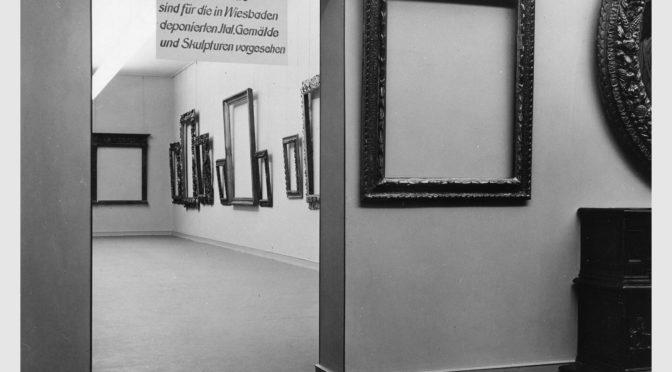 1953-1955: Eine Fotografie als Plädoyer für die Rückgabe von Museumsgut
