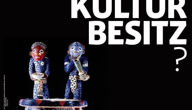 2013: Protestplakat: Preußischer Kulturbesitz?