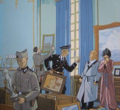 2009: Rose Valland und die Schrecken jüdischer Enteignungen in Frankreich