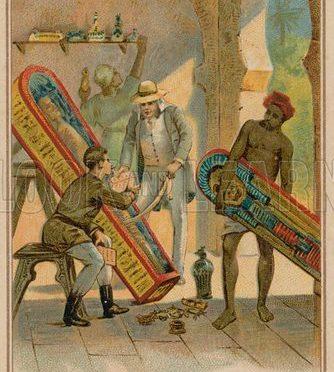 1862 (ca.): Auguste Mariette Bey und die europäischen Monopolansprüche auf ägyptische Altertümer