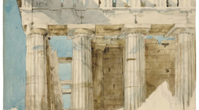 1818: The Parthenon's surviving metope and its absent counterparts