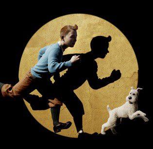 Tintin et Milou, image du film de Spielberg