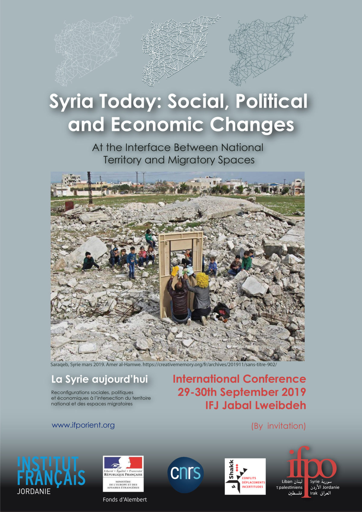 Syria Today Social, Political and Economic Changes At the interface between National Territory and Migratory Spaces