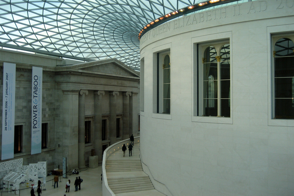 Bloomsbury: British Museum - Great Court and Reading Room, London, UK, November 12, 2006 © Courtesy of Wally Gobetz/Flickr.