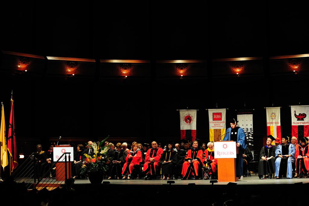 A Graduation Ceremony at Rutgers University, 2010, Rutgers University, New Brunswick, NJ, USA, May 17, 2010 | © Courtesy of llee_wu/Flickr.