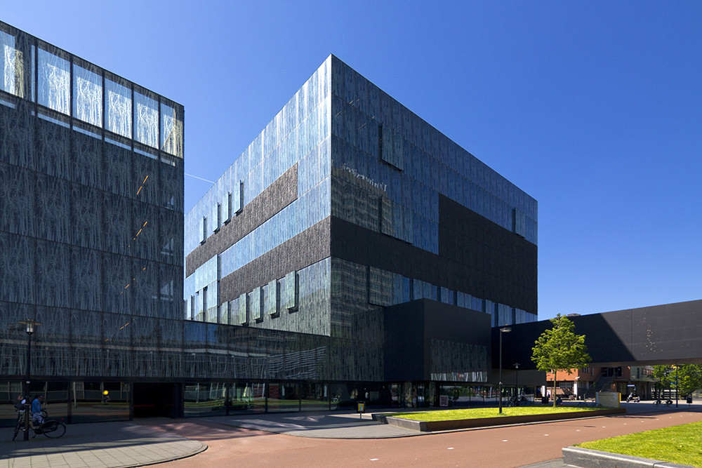 Utrecht University Library, designed by Wiel Arets in De Uithof, Utrecht, the Netherlands, March 5, 2013 | © Courtesy of Wojtek Gurak/Flickr.