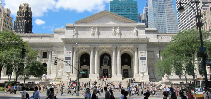 NYC, Midtown, New York Public Library Main Building, New York, NY, USA, August 22, 2011   © Courtesy of Wally Gobetz/Flickr.
