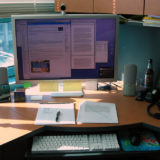 Office Desk Configuration, Honolulu, Hawaii, United States, January 16, 2008 | © Courtesy of Vicky Hamilton/Flickr.