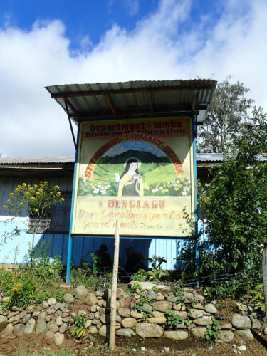 St Therese's School at Denglagu mission.