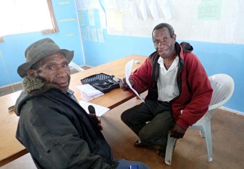 Participants at St Therese's School at Denglagu mission.