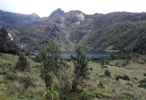 Piunde lake (3800 masl) on Mt Wilhelm (Simbu province)