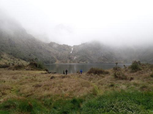 Piunde lake (3800 masl) on Mh Wilhelm (Simbu province)
