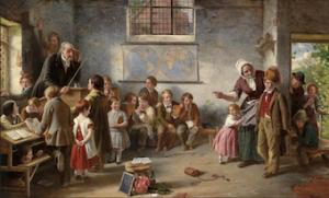Thomas Brooks, The New Pupil, 1854.