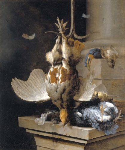 594 Lelienbergh, Stillleben mit toten Vögeln