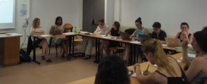 Atelier organisé par les membres de l'École française de Rome, avec Olivia AdankpoMarie Bossaert et Bertrand Marceau.