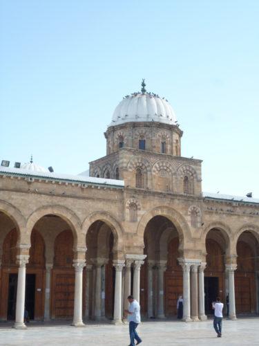 Coupole du bahou, Grande Mosquée de Tunis