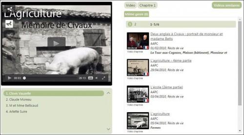 Videos similaires Memoire de Civaux