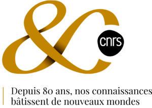 Logo 80 ans du CNRS