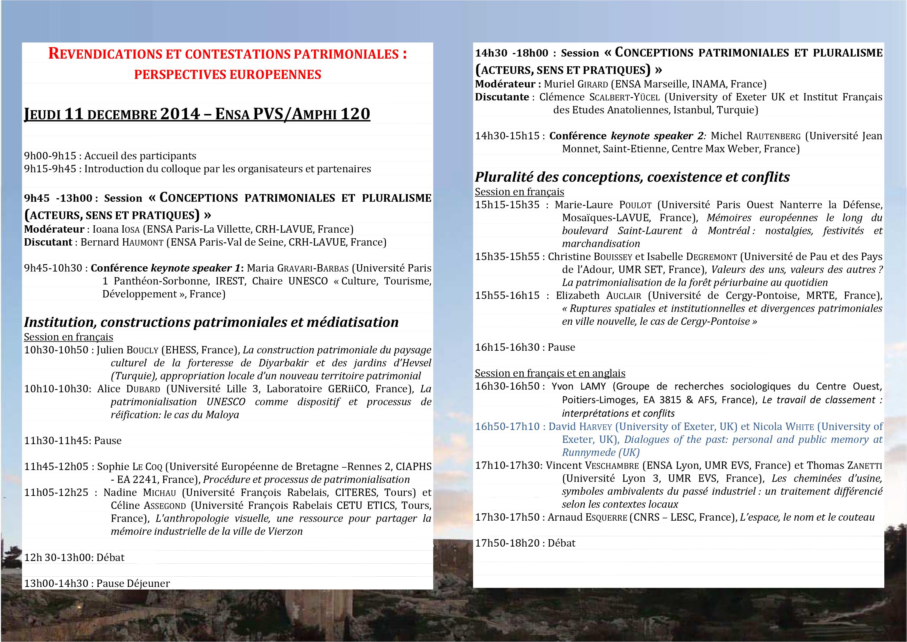 ProgrammeRCP25-11