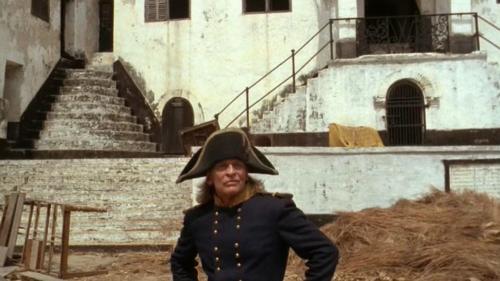Klaus Kinski en Cobra Verde, à Saint-Georges de la Mine