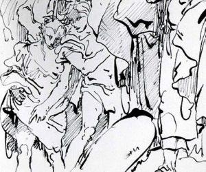 G. D. Tiepolo -- Crowd