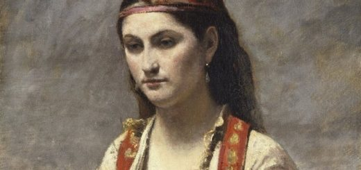 L'Albanaise / Camille Corot
