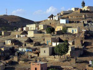 Village houses, Keren