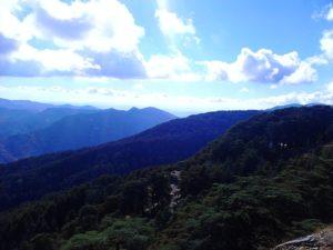 Montagnes de l'Atlas près de Blida
