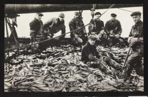 Pêcheurs norvégiens